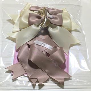 アマベル(Amavel)のLOTUS ribbon リボンバレッタS(バレッタ/ヘアクリップ)