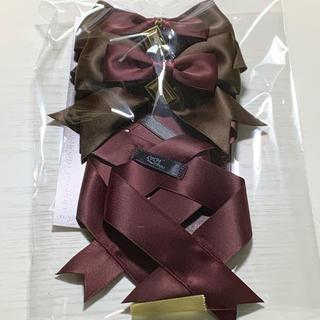 アマベル(Amavel)のLOTUS ribbon リボンバレッタF(バレッタ/ヘアクリップ)