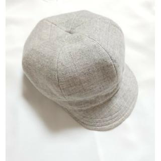 バーバリーブルーレーベル(BURBERRY BLUE LABEL)の値下げ♪BURBERRYBLUELABEL♡ツイードキャスケット帽子(キャスケット)