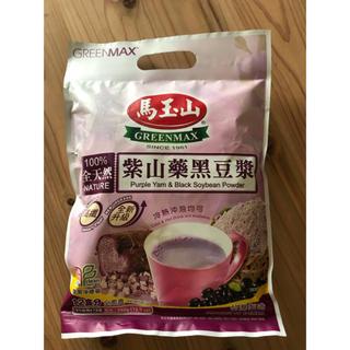 台湾 馬玉山 紫山藥黑豆漿 (紫ナガイモ黒豆乳)(茶)