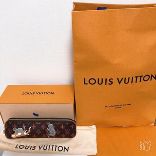 LOUIS VUITTON - 【美品、おまけ付き】ルイヴィトン キャットグラム ペンケース