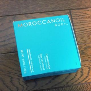 モロッカンオイル(Moroccan oil)の【新品未使用】モロッカンオイル ソープ 石鹸 / 110g(ボディソープ/石鹸)