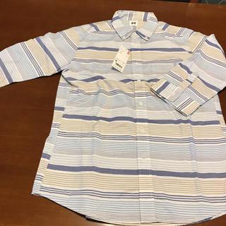 ユニクロ(UNIQLO)のボーダーシャツ(シャツ)