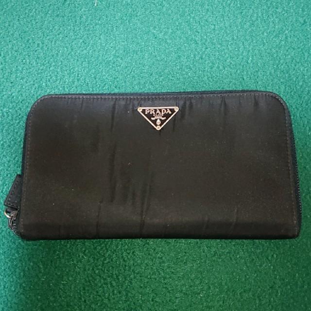 PRADA - PRADAの長財布 ブラック‼️の通販 by まさっぷ's shop|プラダならラクマ