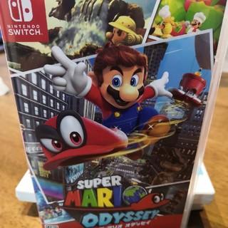 ニンテンドースイッチ(Nintendo Switch)のスーパーマリオ オデッセイ switch (家庭用ゲームソフト)
