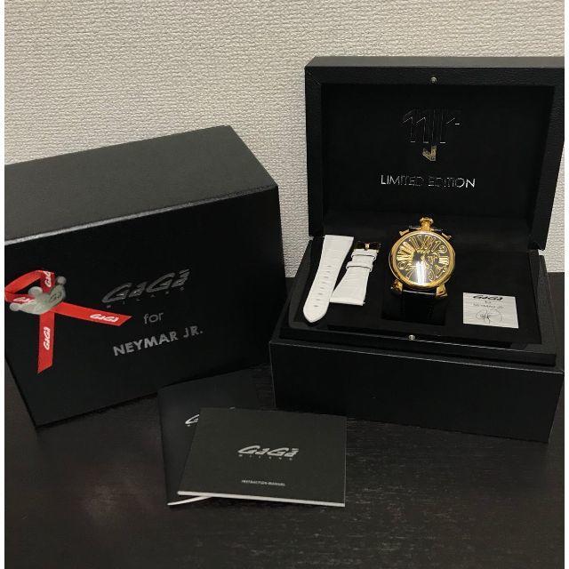 GaGa MILANO - ガガミラノ 美品☆ ネイマールモデル 10ダイヤ☆ 腕時計の通販 by yo-'s shop|ガガミラノならラクマ