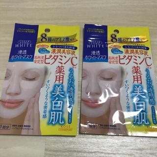コーセーコスメポート(KOSE COSMEPORT)の【新品・未使用】クリアターン ホワイトマスク VC 2セット(パック/フェイスマスク)