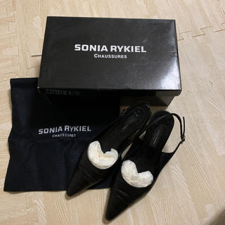ソニアリキエル(SONIA RYKIEL)のソニアリキエル バックベルトパンプス(ハイヒール/パンプス)