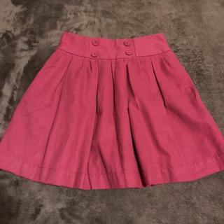 ジエンポリアム(THE EMPORIUM)の新品 赤色スカート(ミニスカート)