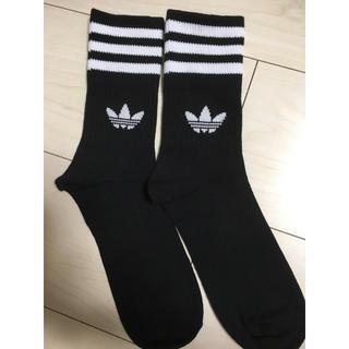 アディダス(adidas)のadidas♡ラインソックス*size 24〜26㎝(ソックス)