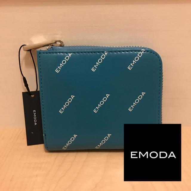 EMODA - エモダ♡ミニウォレット♡ブルーの通販 by Mahina*'s shop|エモダならラクマ