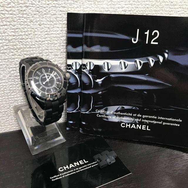 CHANEL - シャネル 美品☆ J12 H0681 腕時計の通販 by yo-'s shop|シャネルならラクマ
