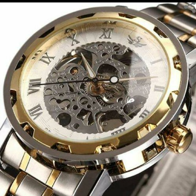 メンズアナログ腕時計 自動巻き式の通販 by しのけん's shop|ラクマ