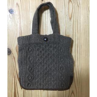 ムジルシリョウヒン(MUJI (無印良品))の無印良品 ニットバッグ(ハンドバッグ)