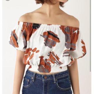 スライ(SLY)のSLY SANDYオフショルTOPS(Tシャツ(半袖/袖なし))