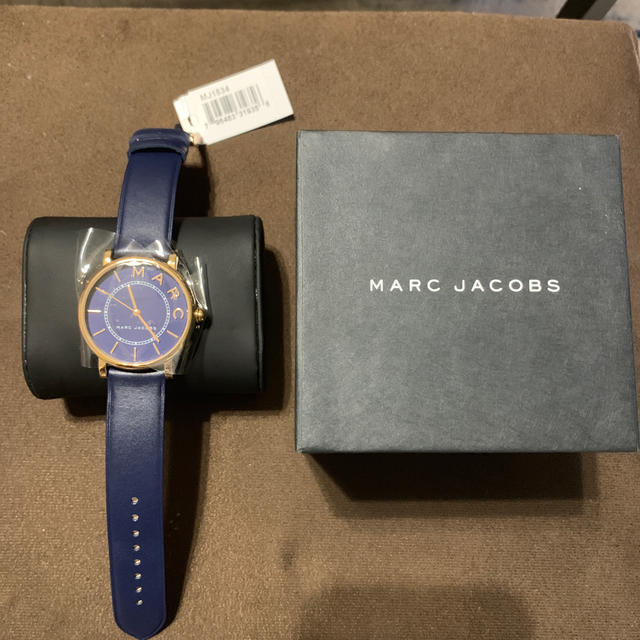MARC JACOBS - MARC JACOBS マークジェイコブス 時計 ネイビーの通販 by しょうきち47's shop|マークジェイコブスならラクマ