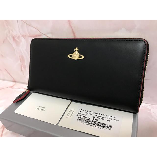 Vivienne Westwood - 黒×赤ラウンドファスナー長財布⭐︎ヴィヴィアンウエストウッド⭐︎新品・未使用の通販 by ⭐︎ご入金いただいた2日以内に発送いたします⭐︎|ヴィヴィアンウエストウッドならラクマ
