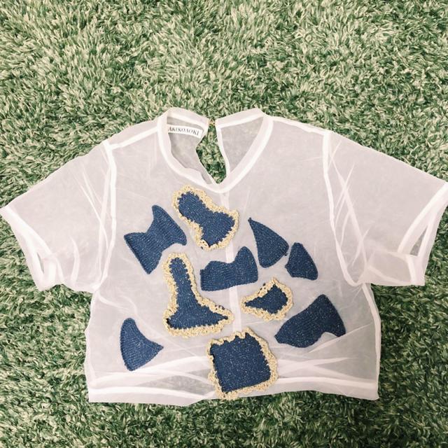 H.P.FRANCE(アッシュペーフランス)のAKIKO AOKI トップス レディースのトップス(シャツ/ブラウス(半袖/袖なし))の商品写真
