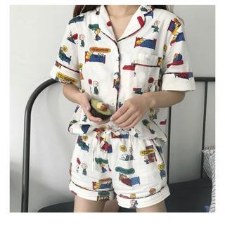 スヌーピー(SNOOPY)の美品❤️韓国  スヌーピー パジャマ(パジャマ)