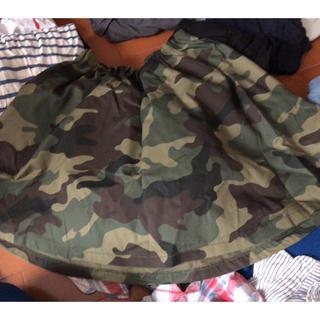 ローリーズファーム(LOWRYS FARM)の迷彩柄のミニスカート(ミニスカート)