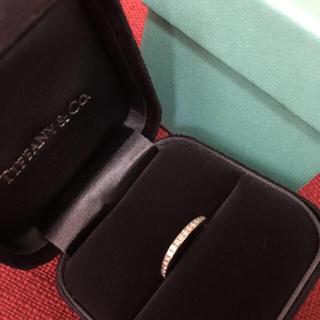 ティファニー(Tiffany & Co.)のティファニー  Tiffany ダイヤモンドリング チャネルリング(リング(指輪))