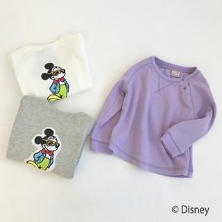 プティマイン(petit main)のプティマイン 新品 130 ディズニー ミッキー(Tシャツ/カットソー)