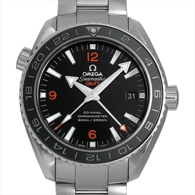 OMEGA - オメガ シーマスター プラネットオーシャン GMT メンズ 腕時計の通販 by vd5v11a's shop|オメガならラクマ