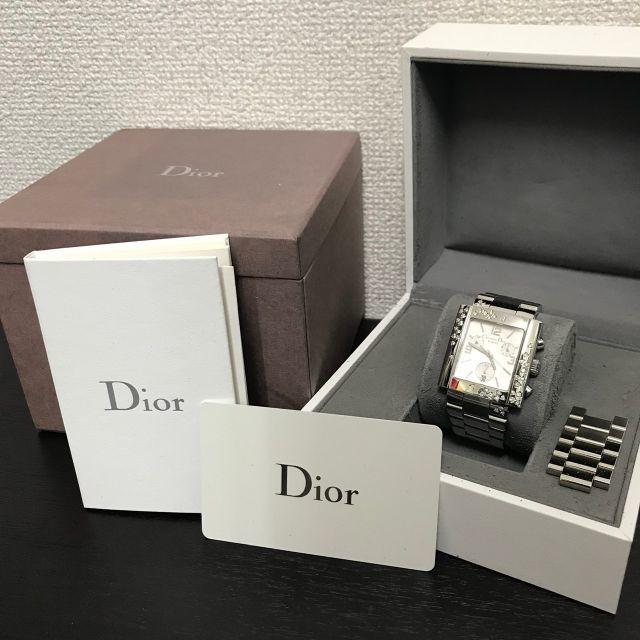 Christian Dior - ディオール 美品☆ 052ct ダイヤ 腕時計 の通販 by yo-'s shop|クリスチャンディオールならラクマ