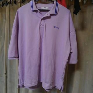 ウィゴー(WEGO)のライトパープル ポロシャツ(ポロシャツ)