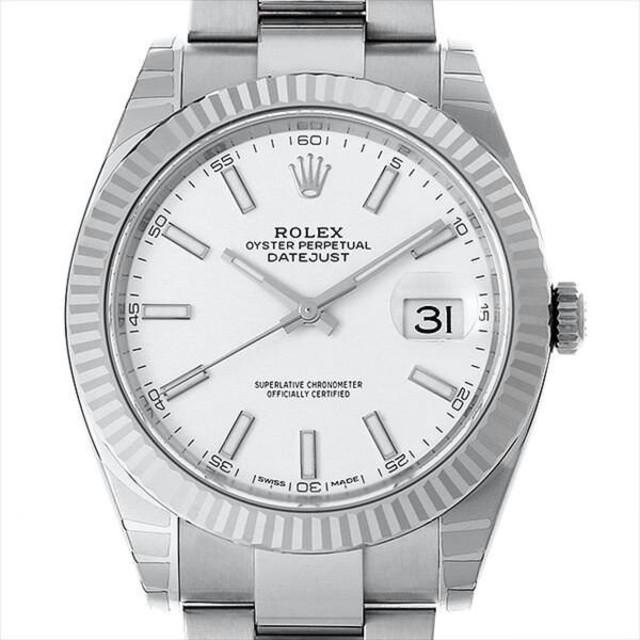 OMEGA - 126334 ホワイト メンズ 腕時計の通販 by jncokkkd01's shop|オメガならラクマ