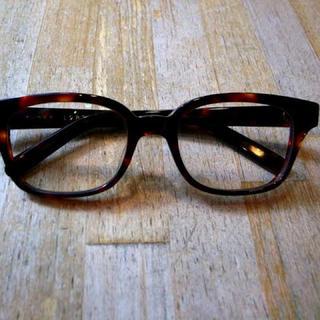 テンダーロイン(TENDERLOIN)の白山眼鏡 TOSS 1988 ブラウンレンズ(サングラス/メガネ)