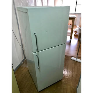 ムジルシリョウヒン(MUJI (無印良品))の無印良品 2ドア冷凍冷蔵庫 東芝08年製(冷蔵庫)