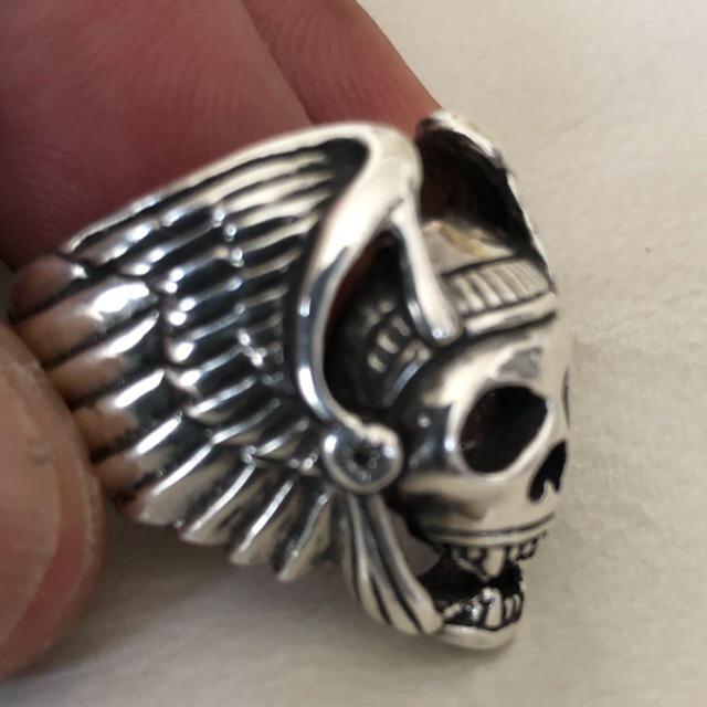 goro's(ゴローズ)のゴローズヘルズリングサイズ24号美品 メンズのアクセサリー(リング(指輪))の商品写真