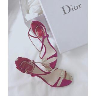 ディオール(Dior)の最終御値下げ Dior  サンダル 22.5(サンダル)