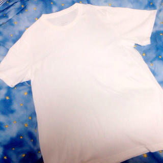 ムジルシリョウヒン(MUJI (無印良品))の無印良品 白無地Tシャツ(Tシャツ(半袖/袖なし))