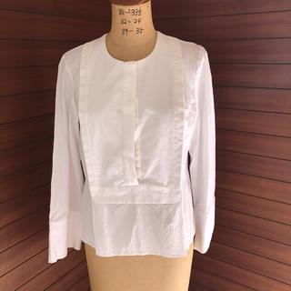 カルヴェン(CARVEN)のCARVEN ホワイトシャツ(シャツ/ブラウス(長袖/七分))
