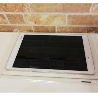 エルジーエレクトロニクス(LG Electronics)のオマケ付き 防水・防塵 8インチタブレット Qua tab PX ホワイト(タブレット)