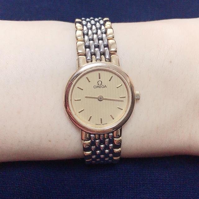 OMEGA - オメガ  デビル 腕時計 レディース クォーツの通販 by マーガレット06's shop|オメガならラクマ