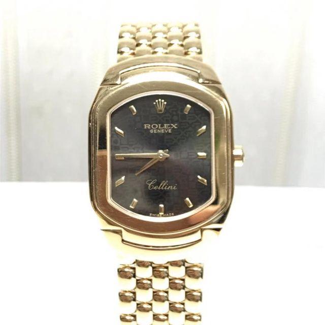ROLEX - 【美品】Rolex ロレックス チェリーニ K18金 金無垢 QZ 腕時計の通販 by jinseicorp2016's shop|ロレックスならラクマ