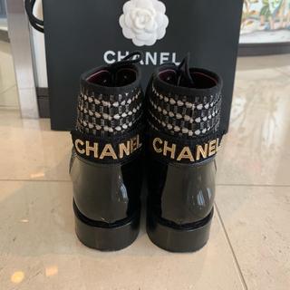 シャネル(CHANEL)の最終値下げ 極美品🌸 CHANEL レースアップブーツ パテント (ブーツ)
