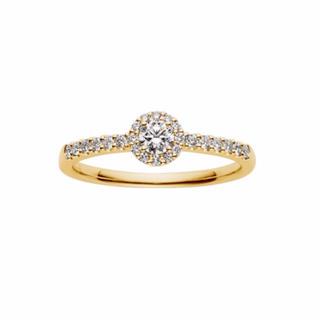ヴァンドームアオヤマ(Vendome Aoyama)のヴァンドーム ダイヤモンド グレースリング K18 YG(リング(指輪))