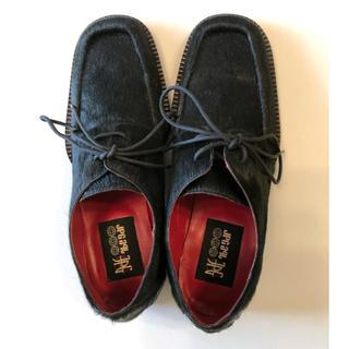 ジャンポールゴルチエ(Jean-Paul GAULTIER)の新品ジャンポールゴルチェ  ハラコ 革靴 サイズ25-25.5(ドレス/ビジネス)