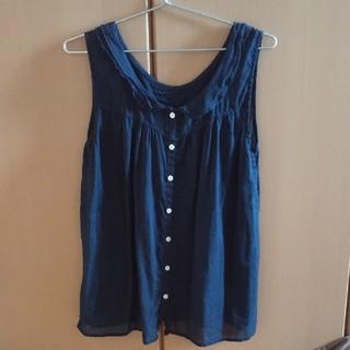 サマンサモスモス(SM2)のSM2ノースリーブシャツ 2way(シャツ/ブラウス(半袖/袖なし))