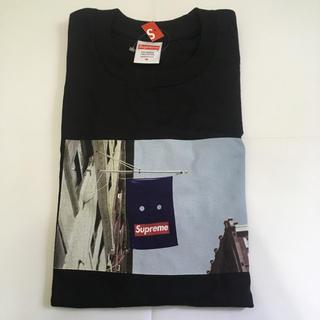 シュプリーム(Supreme)のSupreme banner tee 黒 Mサイズ 新品(Tシャツ/カットソー(半袖/袖なし))