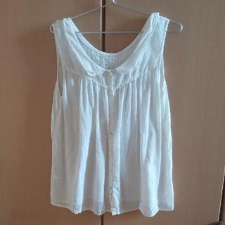 サマンサモスモス(SM2)のSM2 ノースリーブシャツ 2way(シャツ/ブラウス(半袖/袖なし))