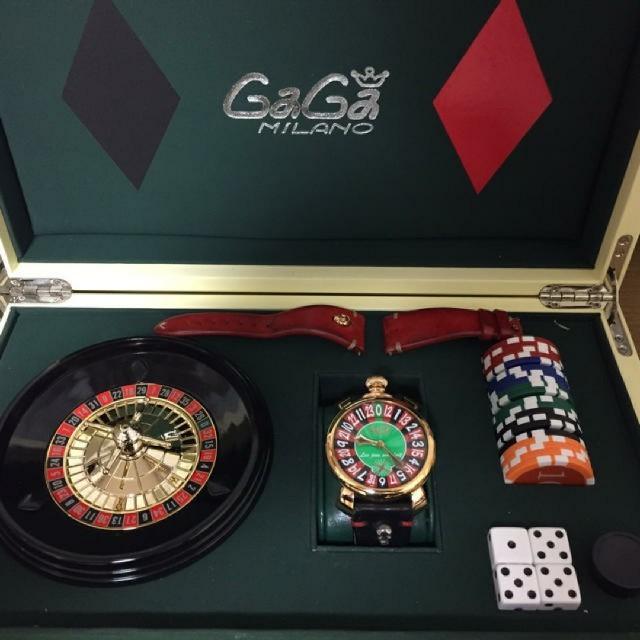 世界限定500本ガガミラノラスベガス腕時計の通販 by なかなか's shop|ラクマ