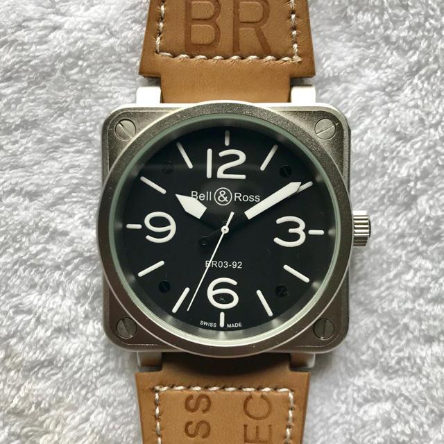 Bell & Ross - メンズ 腕時計 Bell & Ross ヘリテージ ミリタリーウォッチの通販 by Joe DiMaggio |ベルアンドロスならラクマ