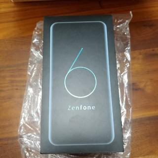 エイスース(ASUS)のZenfone 6 6GB 128GB ミッドナイトブラック 国内版 新品未使用(スマートフォン本体)