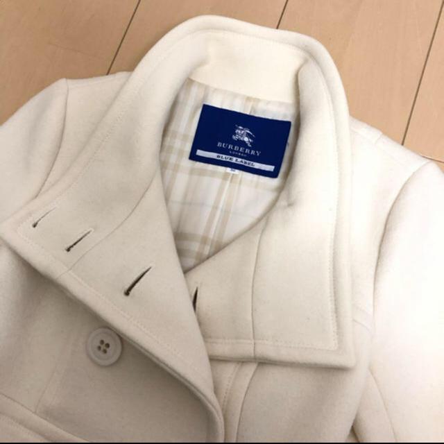 BURBERRY(バーバリー)のバーバリーアンゴラコート レディースのジャケット/アウター(ロングコート)の商品写真