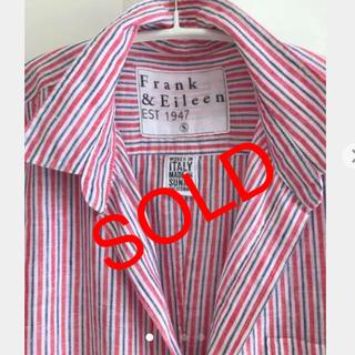 フランクアンドアイリーン(Frank&Eileen)のフランクアンドアイリーン リネン トリコロール ストライプシャツ(シャツ/ブラウス(長袖/七分))